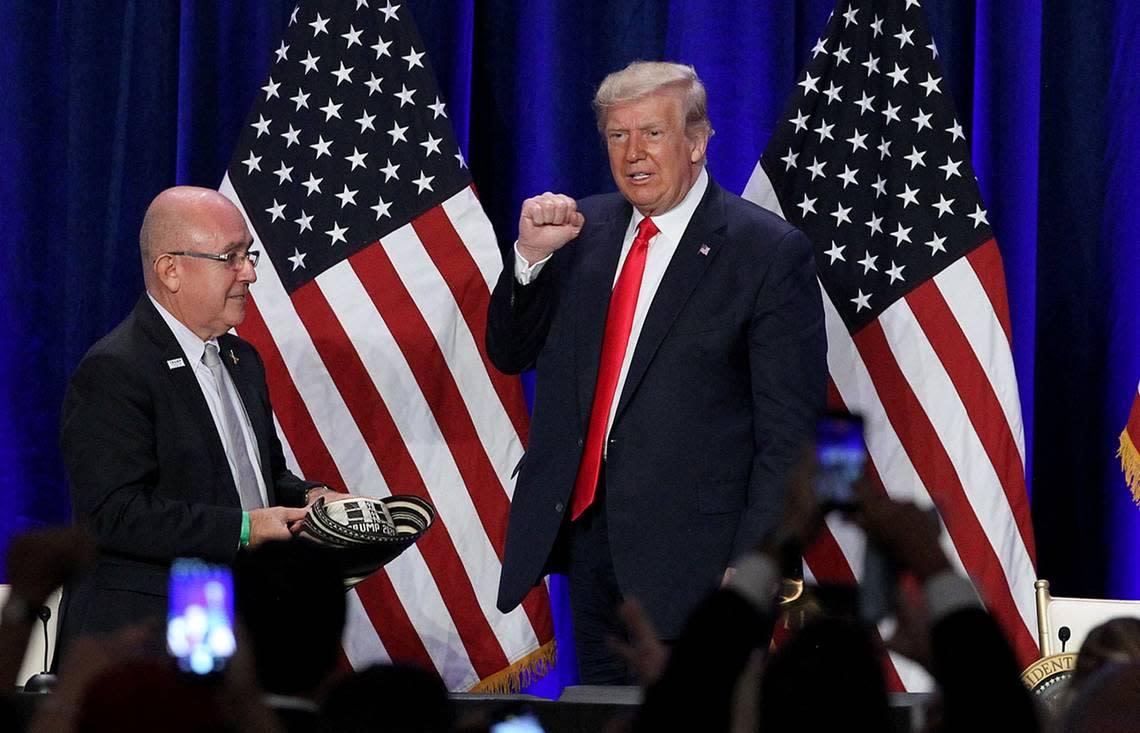 Trump's COVID-19 quarantine leaves political void in stretch run of Florida campaign