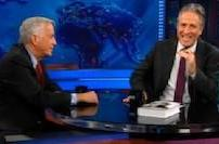 Jon Stewart interviews Jobs biographer Walter Isaacson