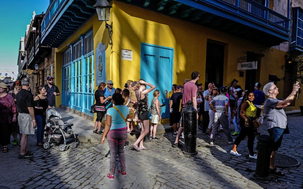 Some three million tourists traveled to the Caribbean nation between January 1 and August 9, 2018, according to official data (AFP Photo/Adalberto ROQUE)