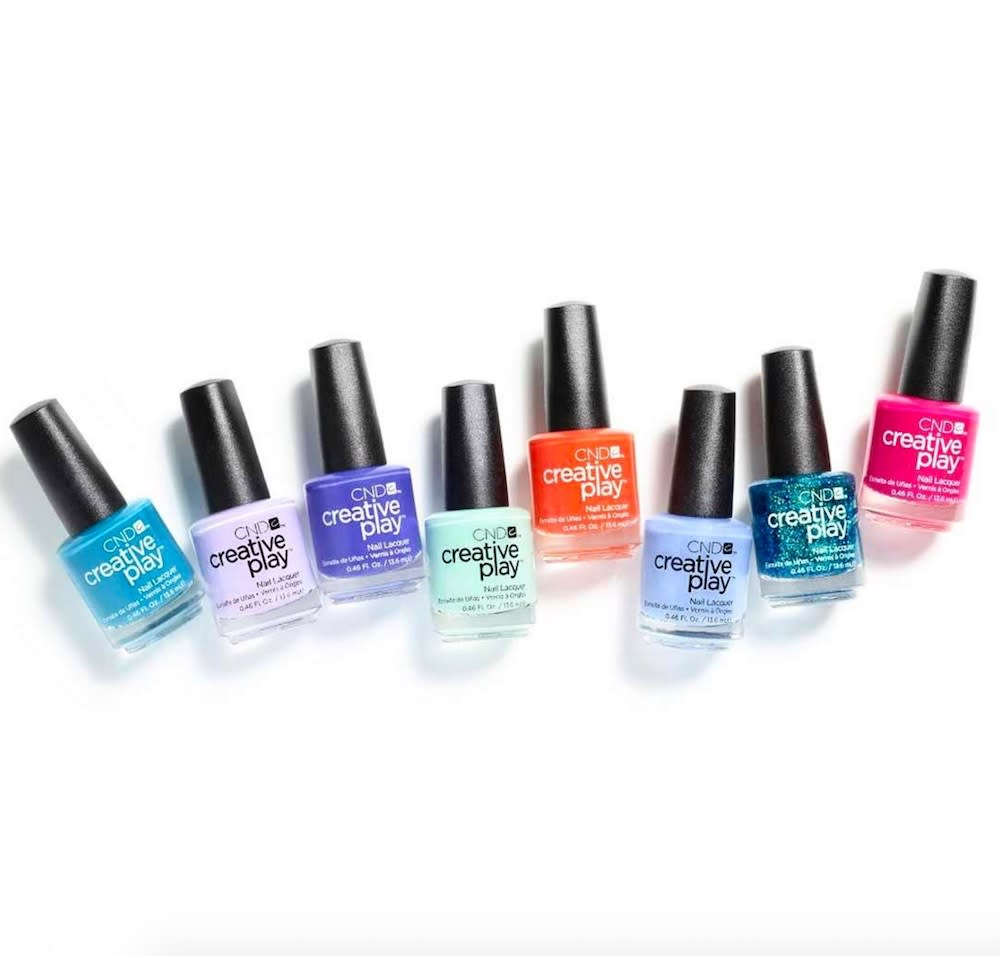 The new polish collection by cnd is at a nail salon near for A new look nail salon