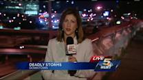 Severe weather causes downed trees, powerl ines, car accidents