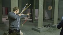 'Robin Hood': Taron Egerton has amazing archery skills in exclusive new 'Taking Aim' clip