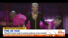 Pink touring Australia for two months