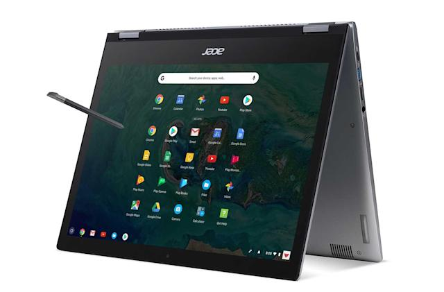 Acer's first high-end Chromebooks are built for business
