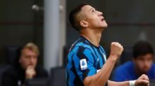 Inter celebra Scudetto goleando a Sampdoria, con doblete de Sánchez y un gol de Martínez