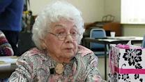 102-year-old shows off intellectual skills