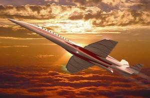 QSST, new supersonic jet, will travel coast-to-coast in two hours