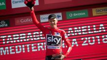 Chris Froome retains Vuelta a Espana lead as Matteo Trentin wins stage four