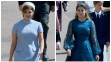Princess Beatrice and Eugenie's outfits divide fashion critics