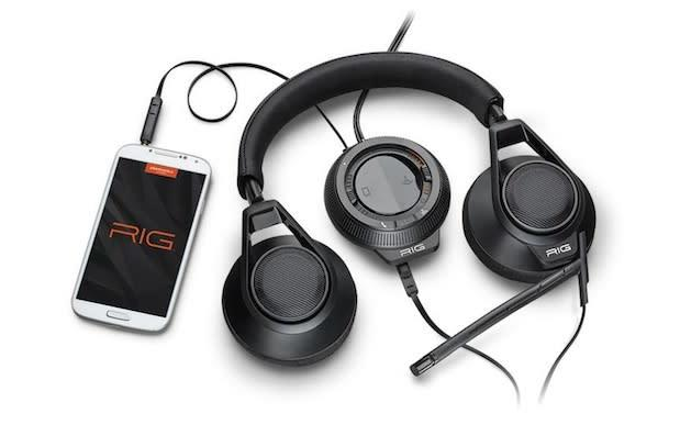 Plantronics' $130 Rig gaming headset homes in on the mobile gaming crowd