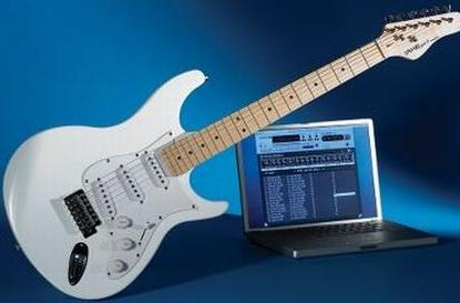 What if... you could learn real guitar through games?