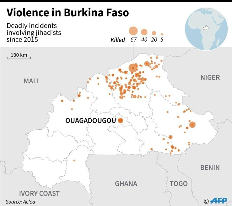 At least 10 killed in attack on church in Burkina Faso
