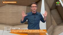 """Neto cobra Tite: """"Não é macho para tirar Neymar se não está jogando bem?"""""""