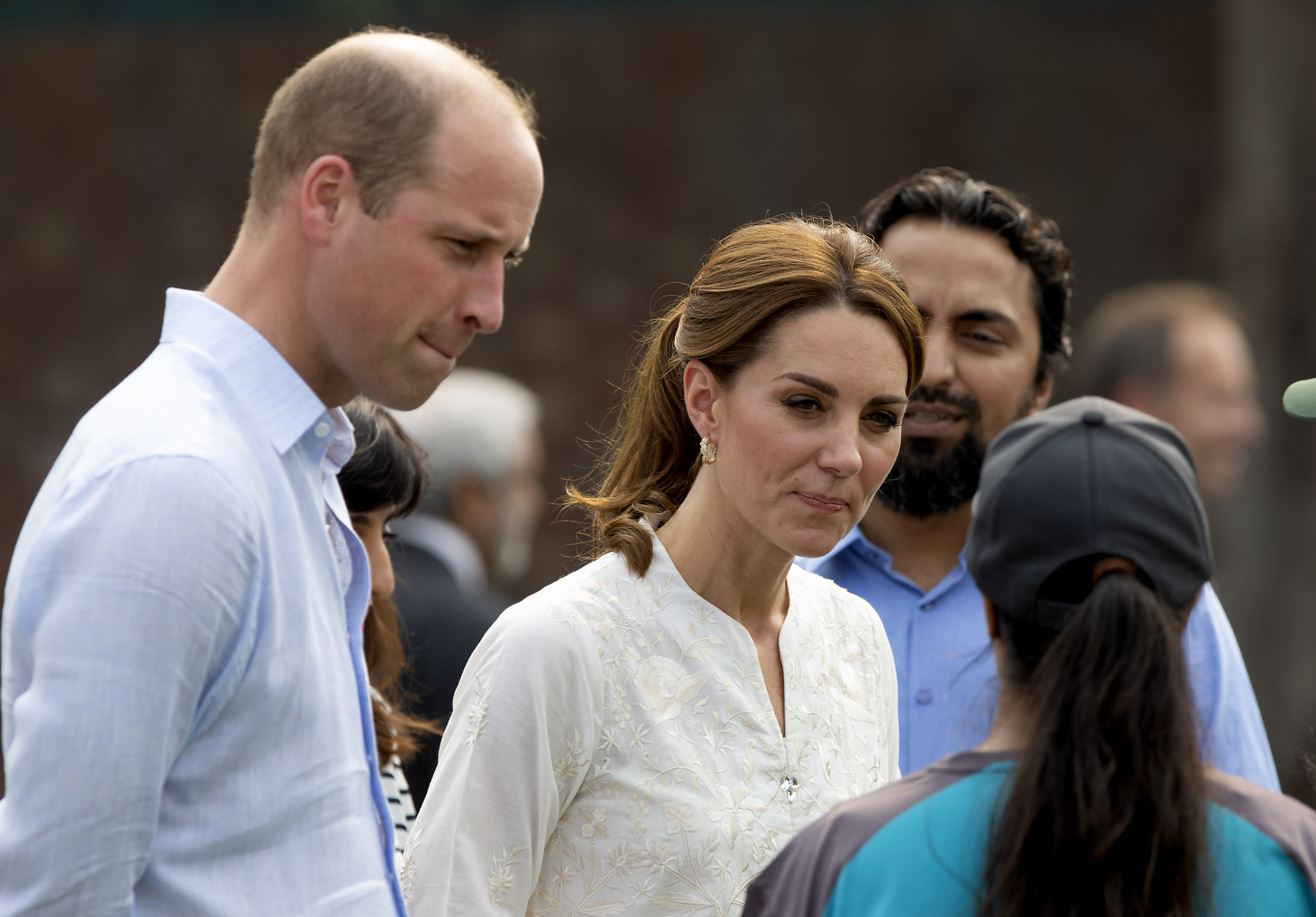 Prince William and Kate Middleton's plane in 'terrifying' emergency landing during storm