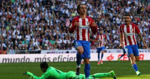Foot - ESP - L'Atlético de Madrid accroche le Real grâce à Antoine Griezmann