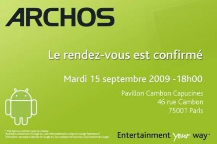 Android-based Archos 5-inch Internet Tablet coming September 15 with (you guessed it) an AppsLib store