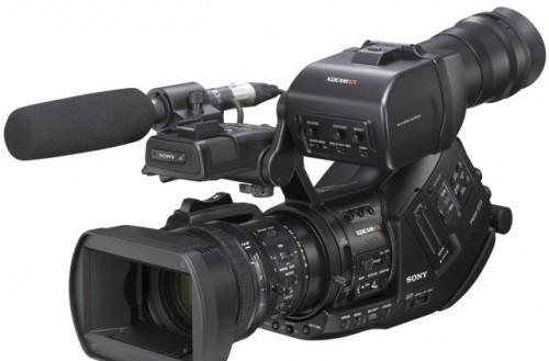 Sony's Full HD PMW-EX3 camcorder outed at NAB