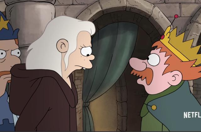 Netflix offers a brief look at Matt Groening's 'Disenchantment'
