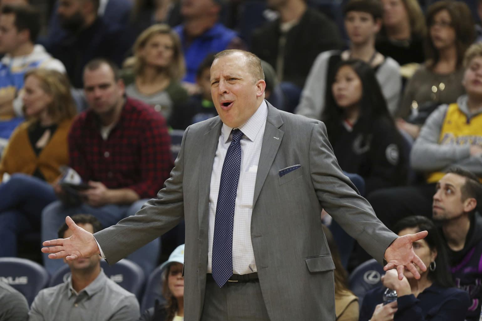Knicks Coach Basketball