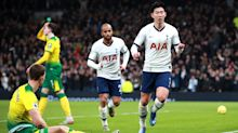 Son gives Tottenham edgy win over Norwich to reignite top four chase