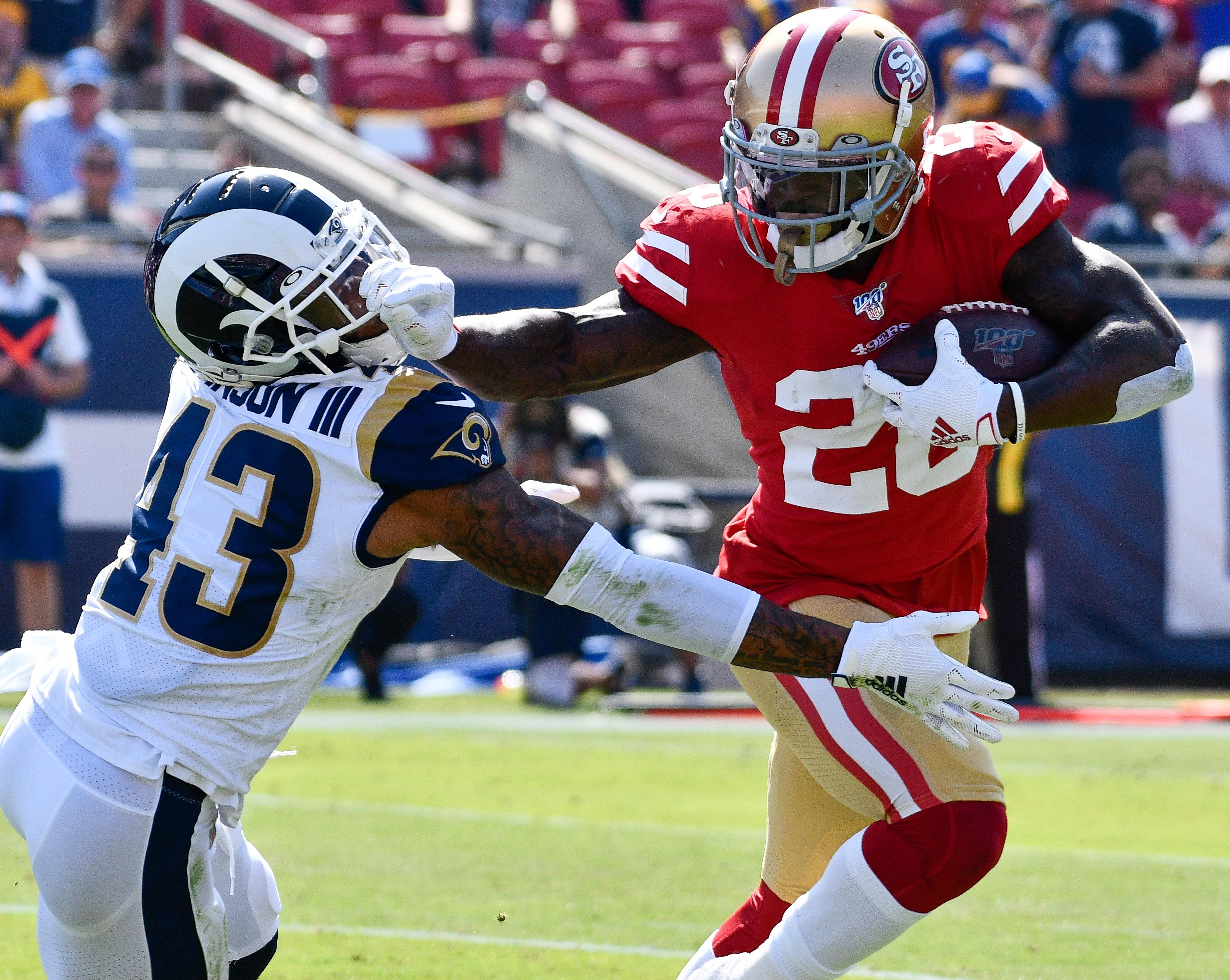 49ers Stifle Rams To Improve To 5 0