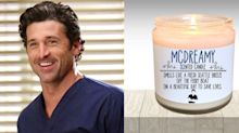 Attention, 'Grey's Anatomy' lovers: You can actually buy a McDreamy-scented candle