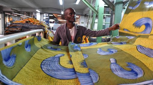 African wax prints tackle rivals for place in the sun