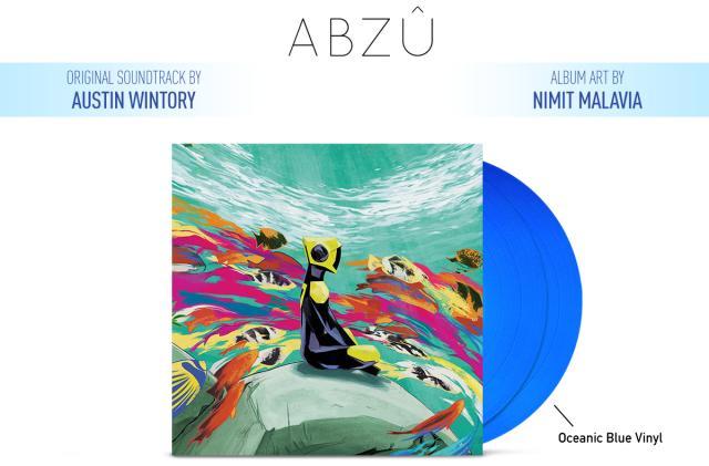 Ocean adventure 'Abzû' gets a glow-in-the-dark vinyl soundtrack