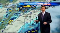 Early rain, afternoon wind forecast for Tuesday