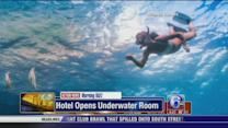 Hotel opens off the coast of Tanzania with underwater room