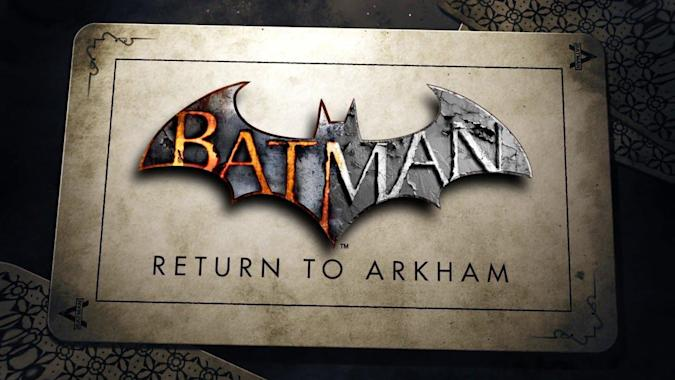Return to Arkham with the remastered 'Batman' games