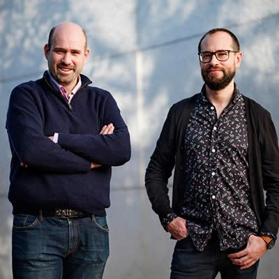 Pepe Barahona y Fernando Ruso