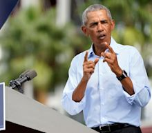 Obama 'getting under Trump's skin' as he campaigns for Biden in swing states, former aides say
