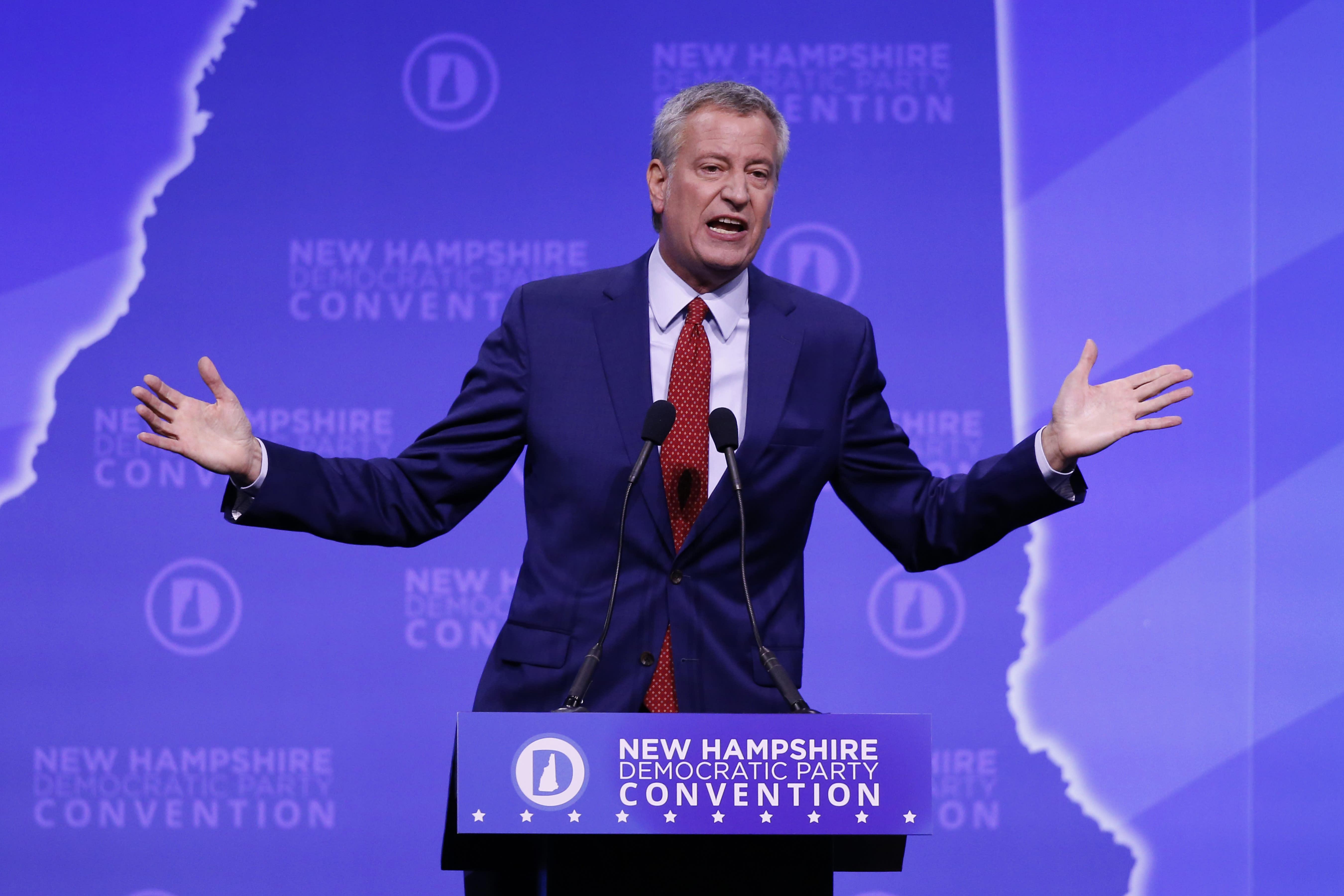 New York Election 2020.New York Mayor Bill De Blasio Drops 2020 Presidential Bid