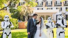 'Star Wars'-Loving Newlyweds, Prepare to Freak Out Over This Insane New Disney Hotel