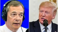 5 Moments From Donald Trump's Extremely Normal Interview With Nigel Farage