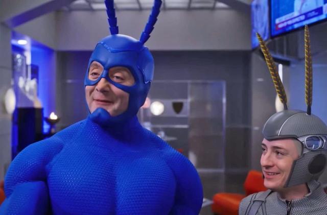 'The Tick' returns to Amazon Prime Video on April 5th
