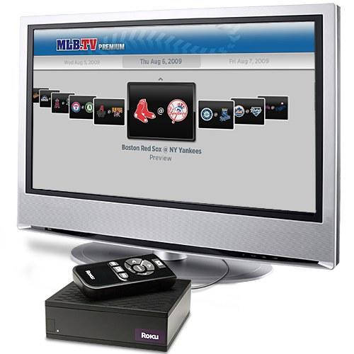 Roku Video player now streaming live HD baseball games from MLB.TV