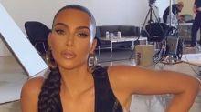 Kim Kardashian wows fans with an XL double-plaited ponytail