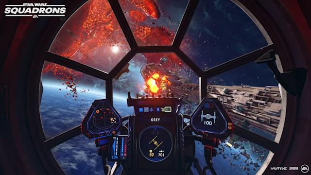EA debuts 'Star Wars: Squadrons' gameplay