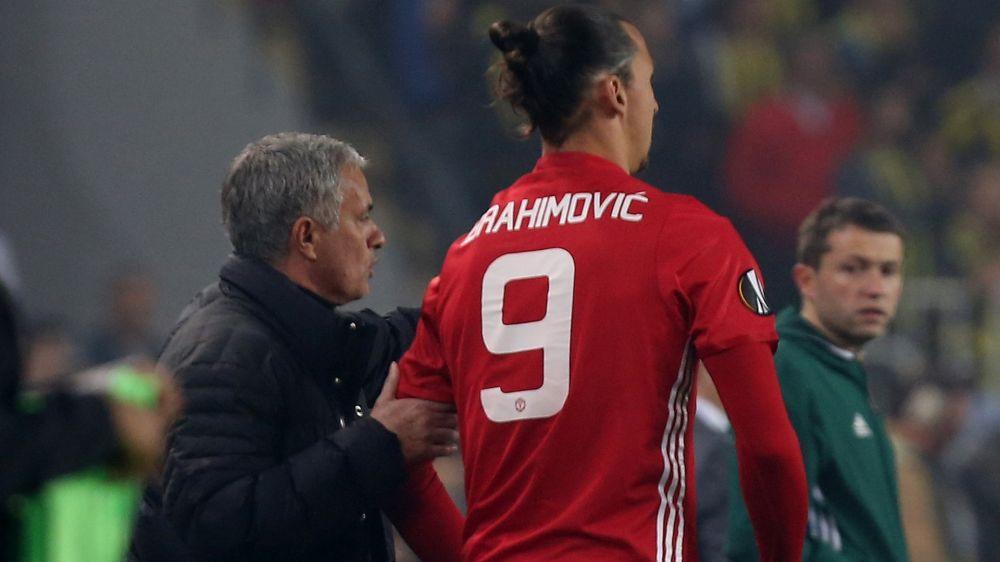 """""""Não fiquei desapontado com Ibrahimovic"""", avisa Mourinho"""