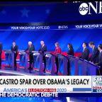 Biden and Castro spar over Obama's legacy