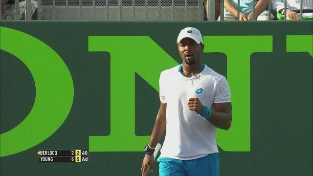 Wins for Querrey, Bautista Agut and Young in Miami