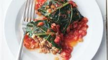 Stuffed Collard Greens—Healthy Comfort for Rainy Spring Days