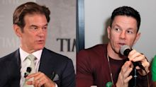 Dr. Oz and Mark Wahlberg feud over breakfast — yes, breakfast