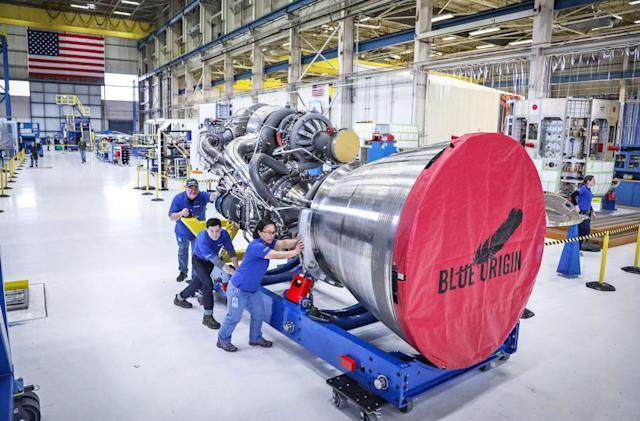 Blue Origin's latest rocket engine is finally complete
