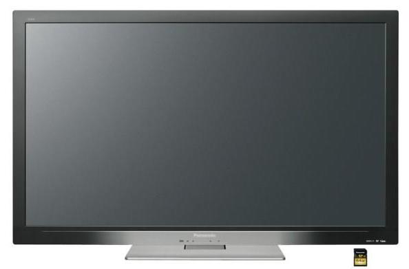Panasonic's new LCD TVs record video to SDXC
