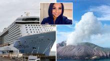 Australian cruise ship passenger says she was not warned of volcano risks