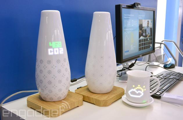 Play Whac-A-Mole on these weather-predicting smart ceramics