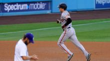 How rare was the Giants' offensive outburst against Dodgers ace Clayton Kershaw?